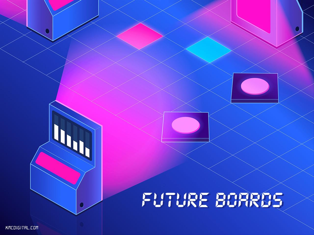game concept art medium