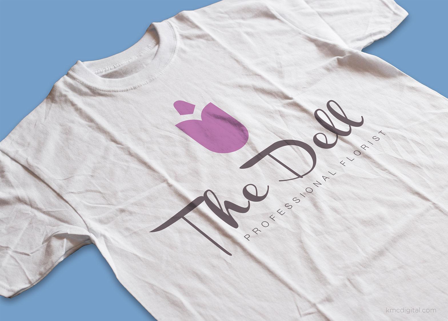 logo design on tshirt by kmcdigital