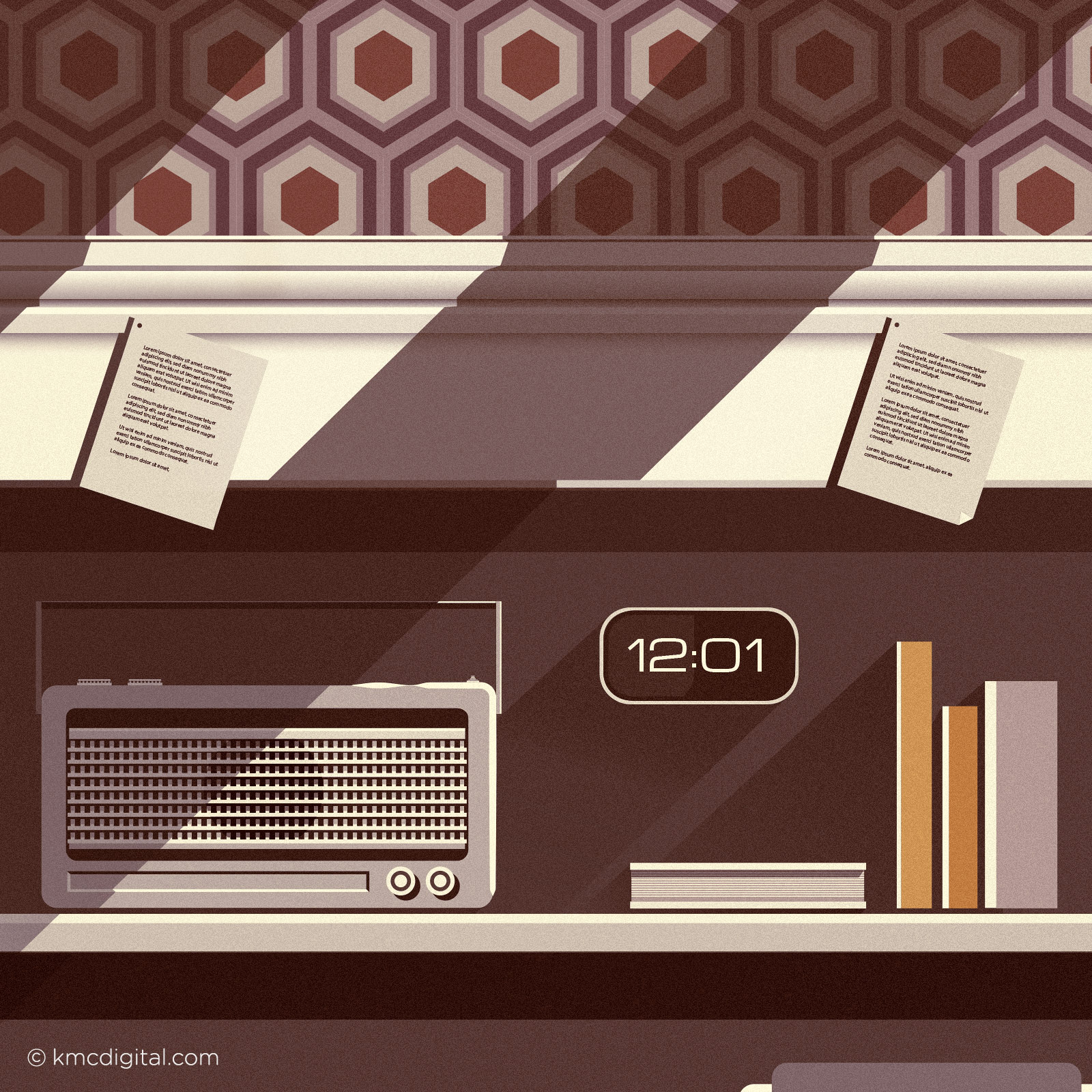 Words and Music Illustration vignette